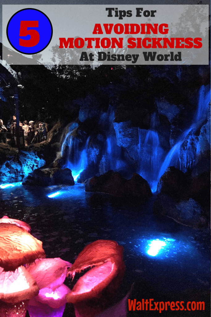 Top 5 Tips for Avoiding Motion Sickness at Disney World