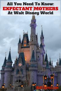 Expectant Mothers At Walt Disney World Parks
