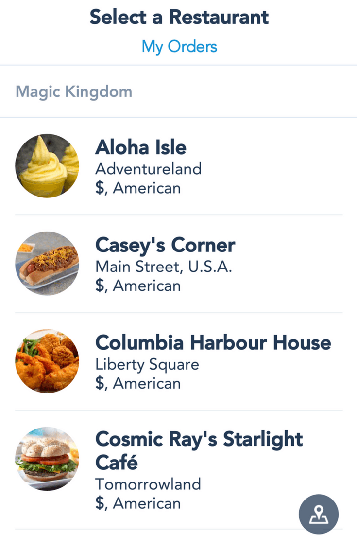 Disney 101: New Mobile Food and Beverage Ordering Explained