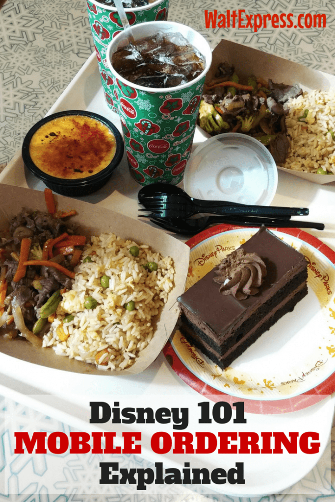 #waltexpress #disneyworld #disneymobilefoodordering Disney 101 Mobile Phone Ordering