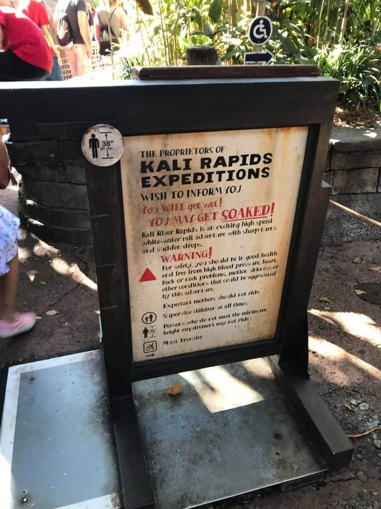 Signs At Disney World That Guests Never Read But Should