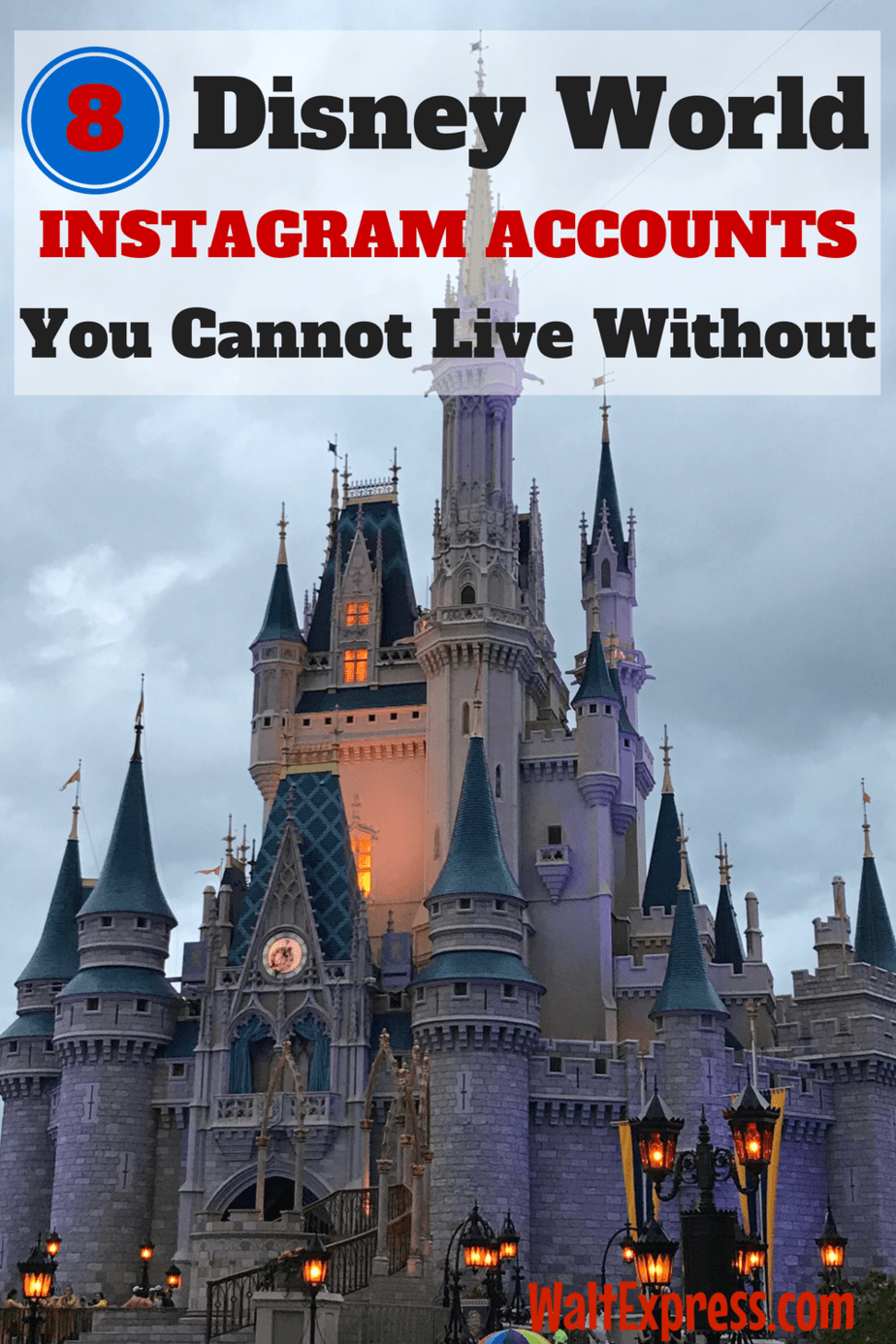 8 Disney World Instagram Accounts You Cannot Live Without