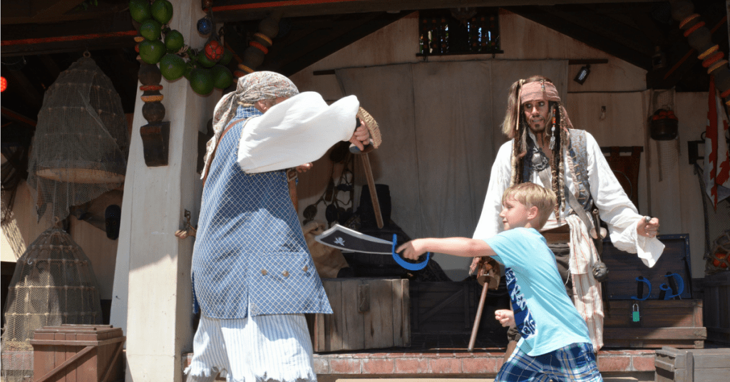 Did You Know: Captain Jack Sparrow's Pirate Tutorial In Disney's Magic Kingdom