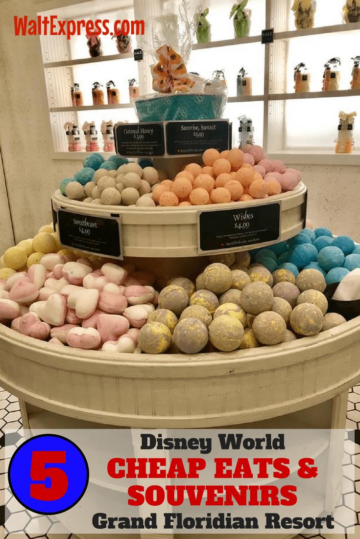 5 Cheap Eats And Souvenirs At Disney World: GRAND FLORIDIAN RESORT