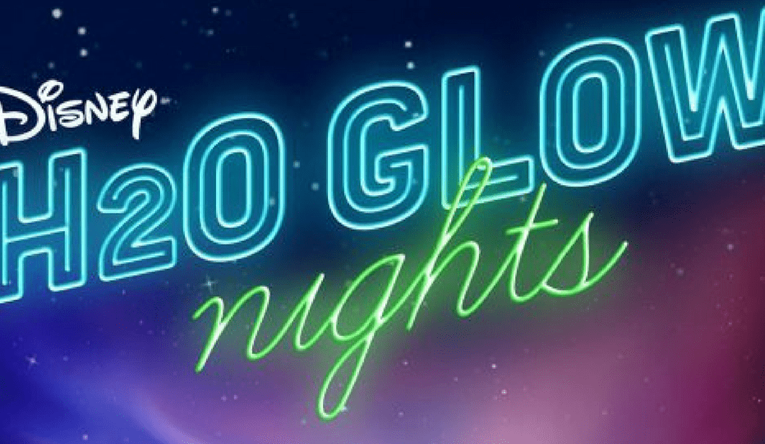 H20 Glow Nights In Disney's Typhoon Lagoon Water Park Summer