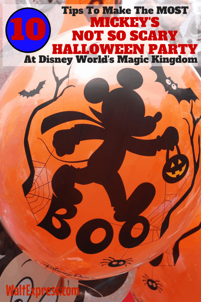 #waltexpress #disneyworld #disneyhalloween Tips For Mickey's Halloween Party