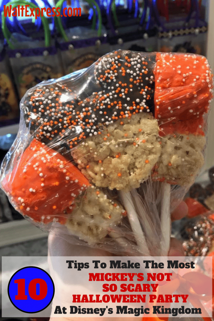 10 Tips to Make the Most out of Mickey's Not So Scary Halloween Party