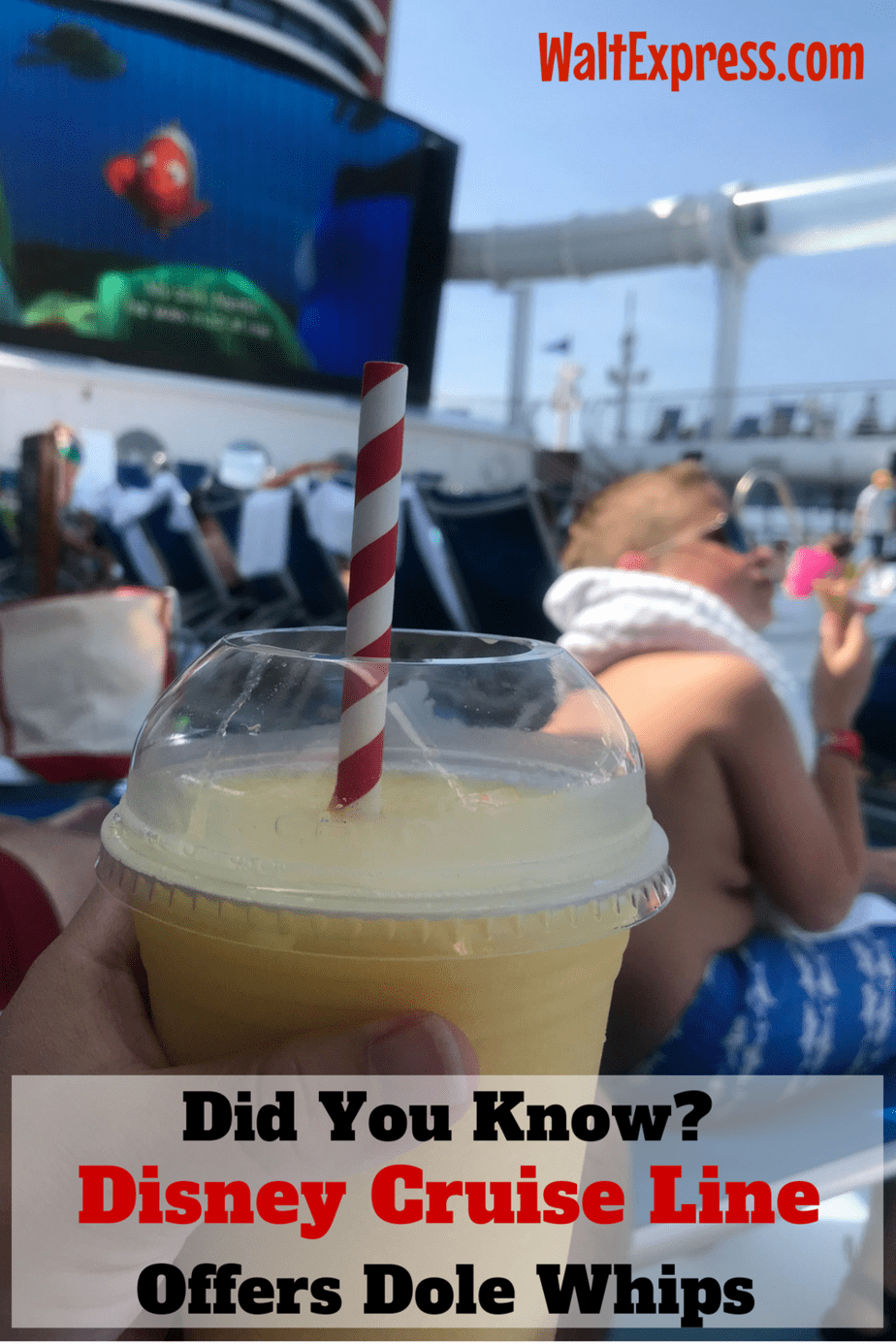 Did You Know? Disney Cruise Line Offers Dole Whips