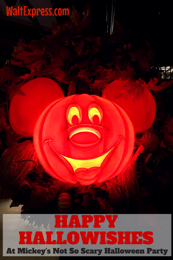 Video: Happy HalloWishes At Mickey's Not-So-Scary Halloween Party