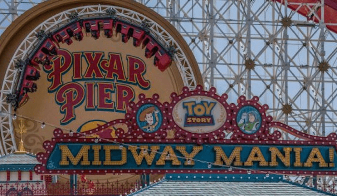 Disneyland Sneak Peek: Pixar Pier At Disney California Adventure Park