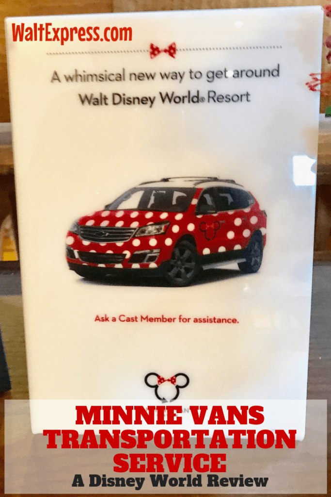 Minnie Vans Transportation Service: A Disney World Review