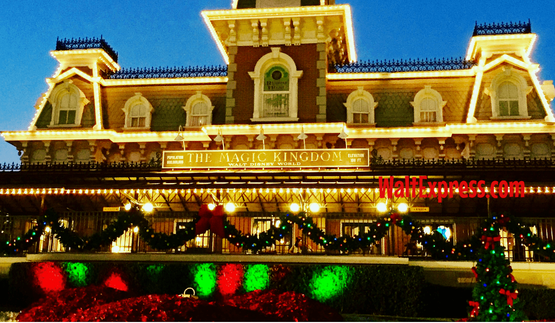 Available To Book NOW: Ultimate Christmastime Package At Disney World