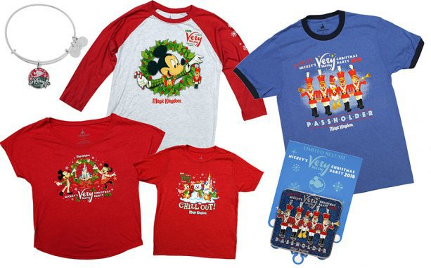 Just Released: 2019 Merchandise For Mickey's Very Merry Christmas Party!