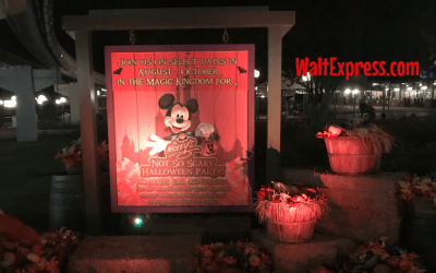 2019 Mickey's Not So Scary Halloween Party Tickets On Sale NOW