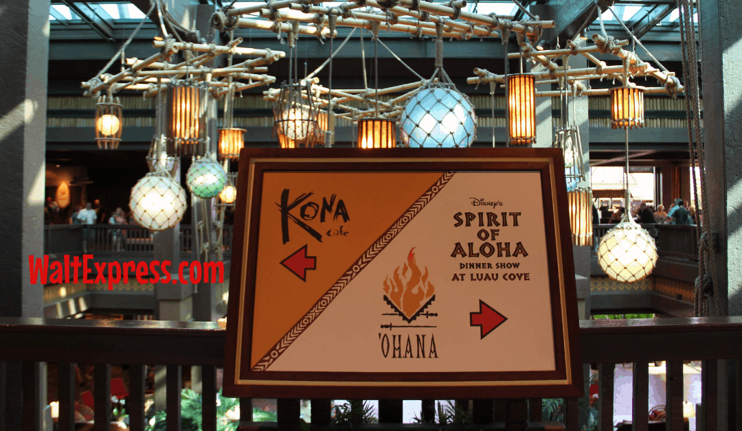 Spirit Of Aloha Dinner Show: A Disney World Dining Review