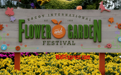 Guide To Epcot's International Flower And Garden Festival For 2021