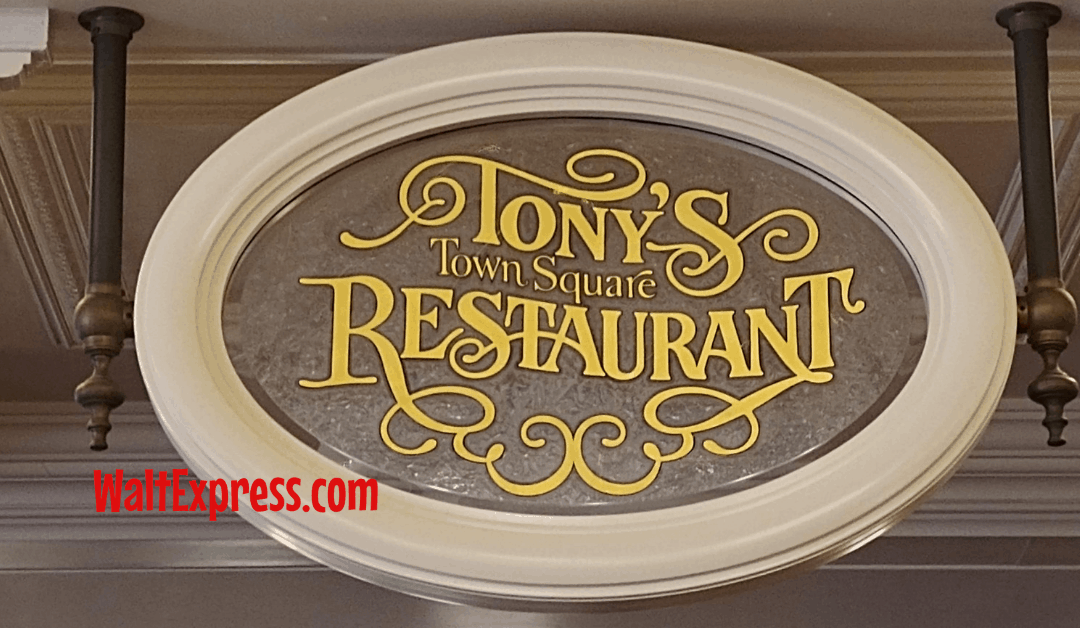 5 Reasons We Love Tony's Town Square Restaurant At Magic Kingdom
