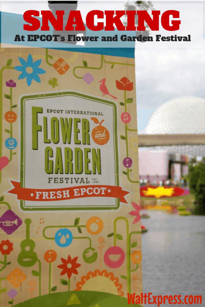 #waltexpress #disneyworld #epcotflowergarden snacking flower garden epcot