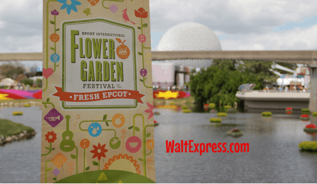 Snacking At Epcot's 2019 Flower And Garden Festival