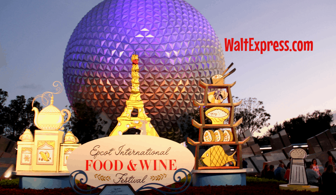 Dates Released For 2019 Epcot S Food And Wine Festival