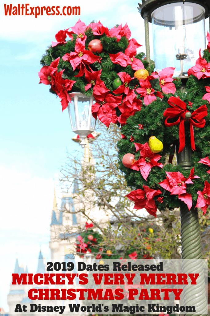 #waltexpress #disneyworld #mickeysverymerrychristmasparty #2019 very merry christmas party