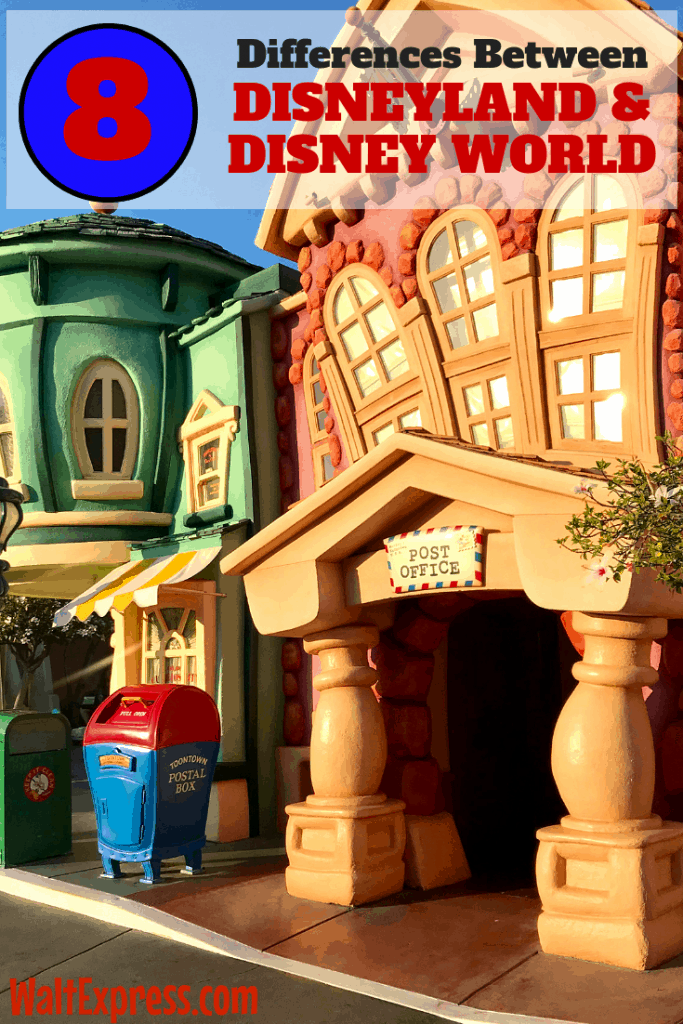 #WALTEXPRESS #DISNEYWORLD #DISNEYLAND Disney World and Disneyland Differences
