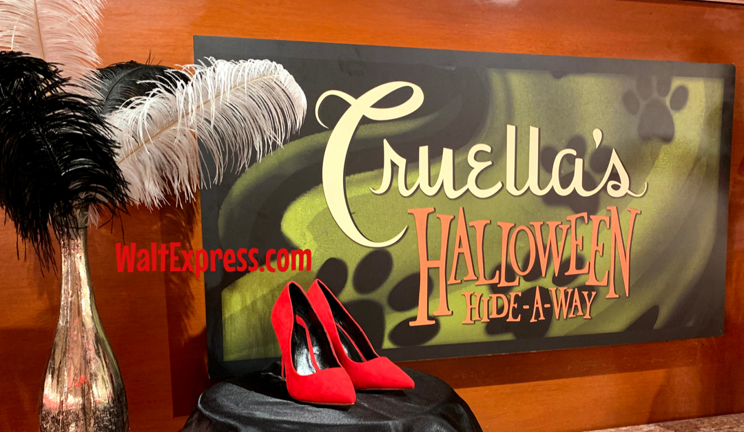 Cruella's Hide-A-Way At Mickey's Not So Scary Halloween Party