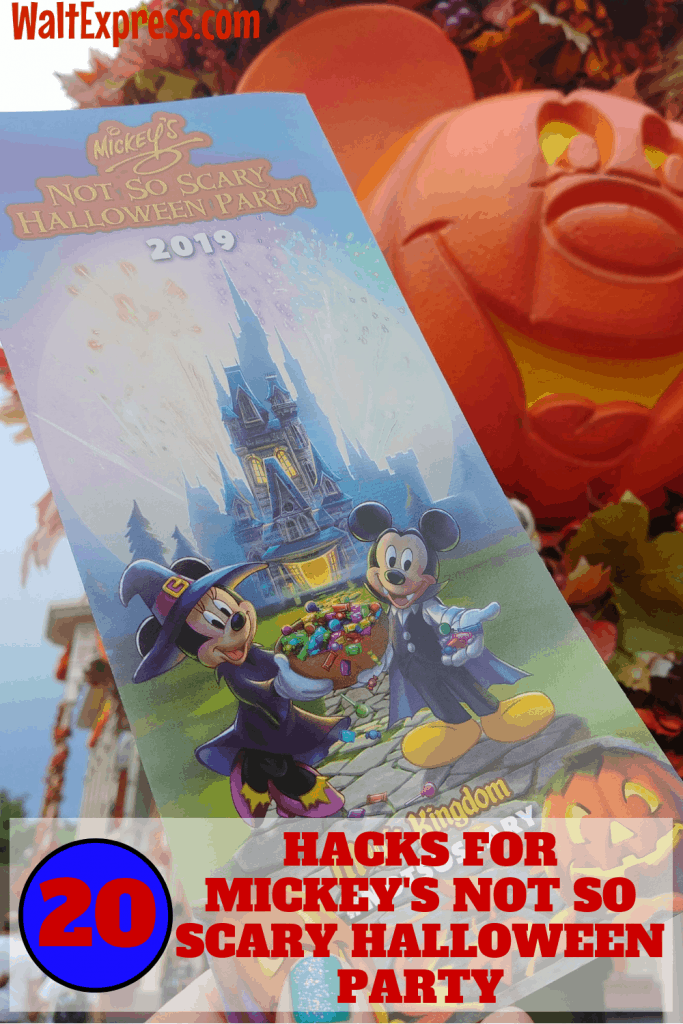 #waltexpress #disneyworld #disneyhalloweenparty Hacks For Mickey's Not So Scary Halloween Party