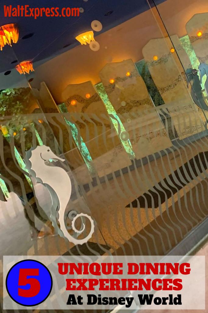 #waltexpress #disneyworld #disneydining Unique Disney World Dining
