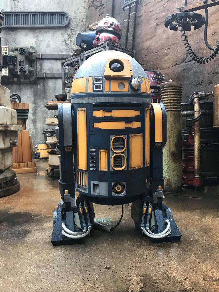 #waltexpress #disneyworld #starwarsdroid Star Wars Land Droid Depot