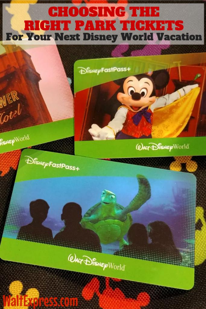 #WALTEXPRESS #DISNEYWORLD #DISNEYWORLDPARKTICKETS Tickets For Your Disney World Vacation