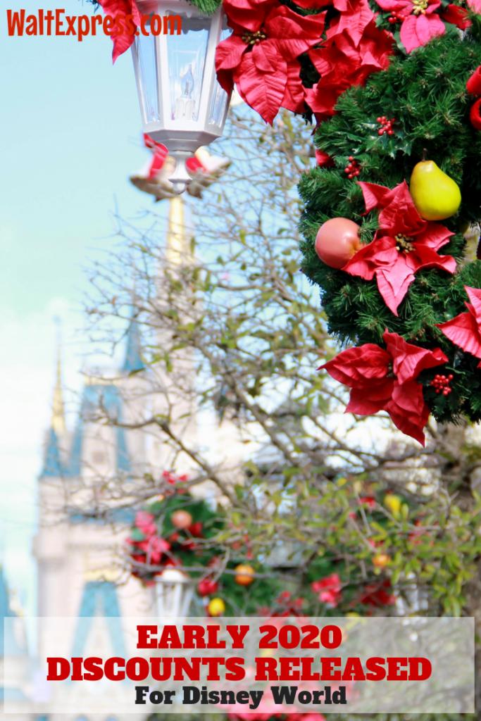 #waltexpress #disneyworld #freedisneydining Breaking News: Early 2020 Discount Released For Disney World