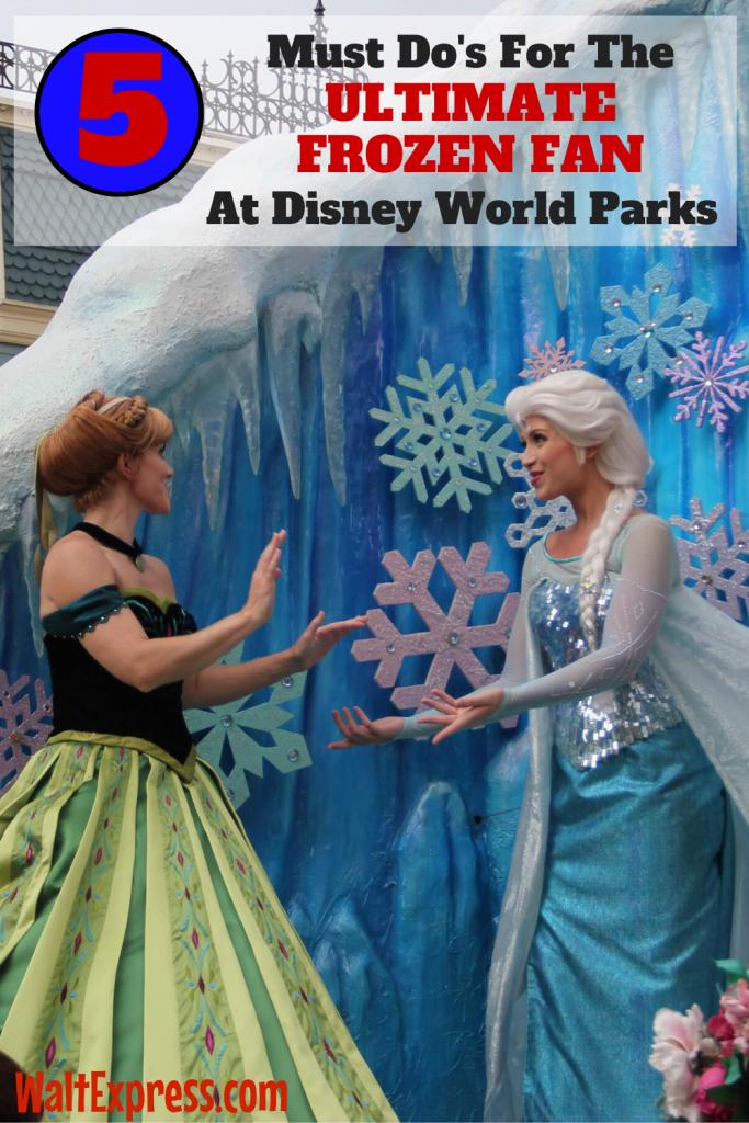 #WALTEXPRESS #DISNEYWORLD FROZENEVERAFTER Frozen At Disney World