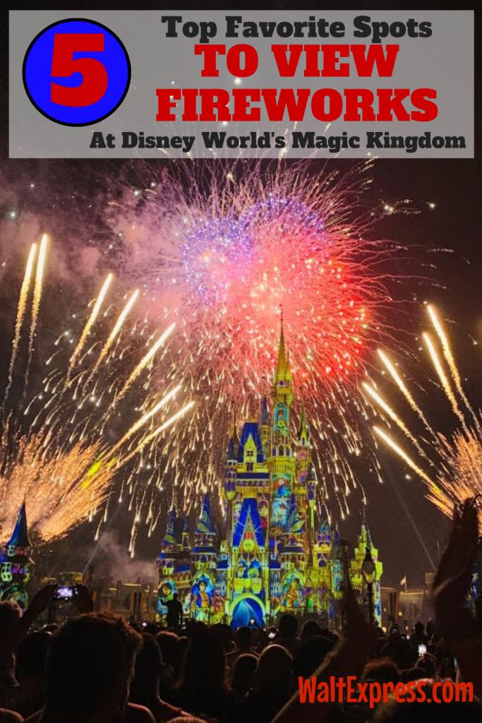 #WALTEXPRESS #DISNEYWORLD #MAGICKINGDOMFIREWORKS Magic Kingdom Fireworks