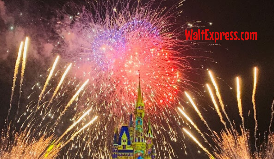 Top 5 Favorite Spots To View Disney World's Magic Kingdom Fireworks