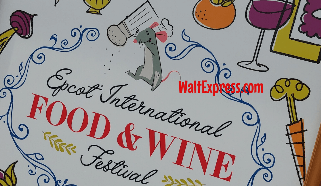 #WALTEXPRESS #DISNEYWORLD #EPCOT Epcot's Food And Wine