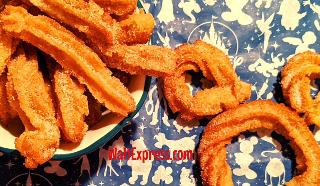 #WALTEXPRESS #DISNEYCOPYCATRECIPES #DISNEYRECIPES DISNEY COPYCAT CHURRO BITES