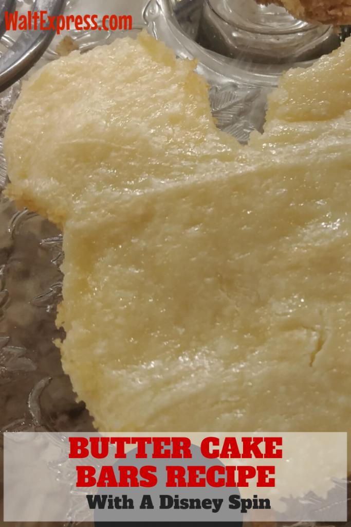 #waltexpress #disneyworld #disneyfood Mickey Butter Cake Bars