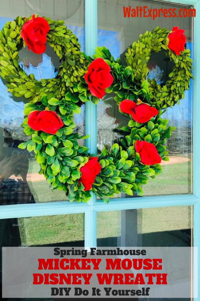 #waltexpress #disneyworld diydisney Mickey Mouse Disney Wreath