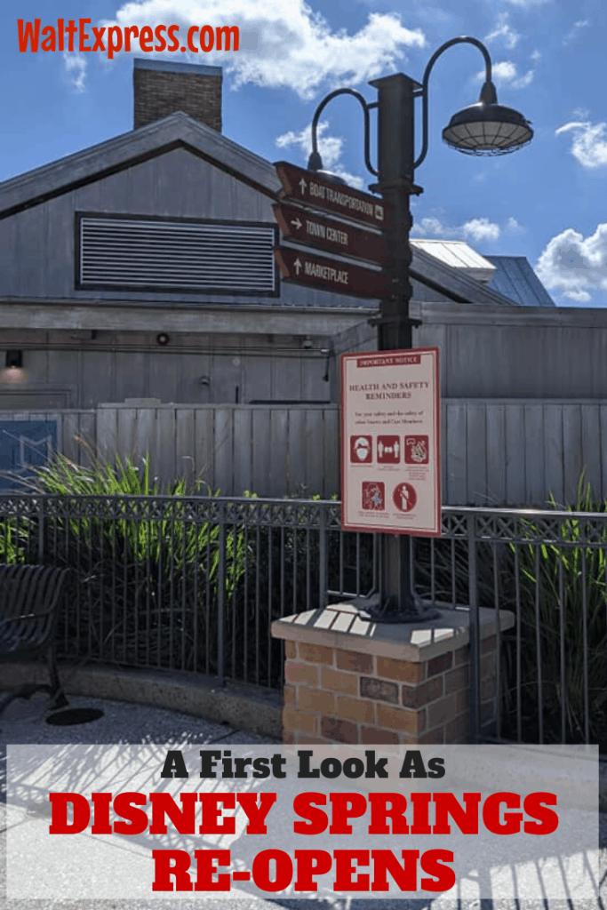 #waltexpress #disneyworld #disneysprings Disney Springs Re-Opens