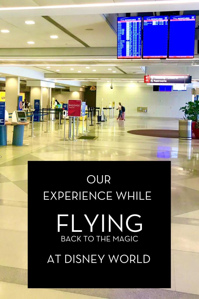 #WALTEXPRESS #DISNEYWORLD #FLYINGTOORLANDO EXPERIENCE WHILE FLYING