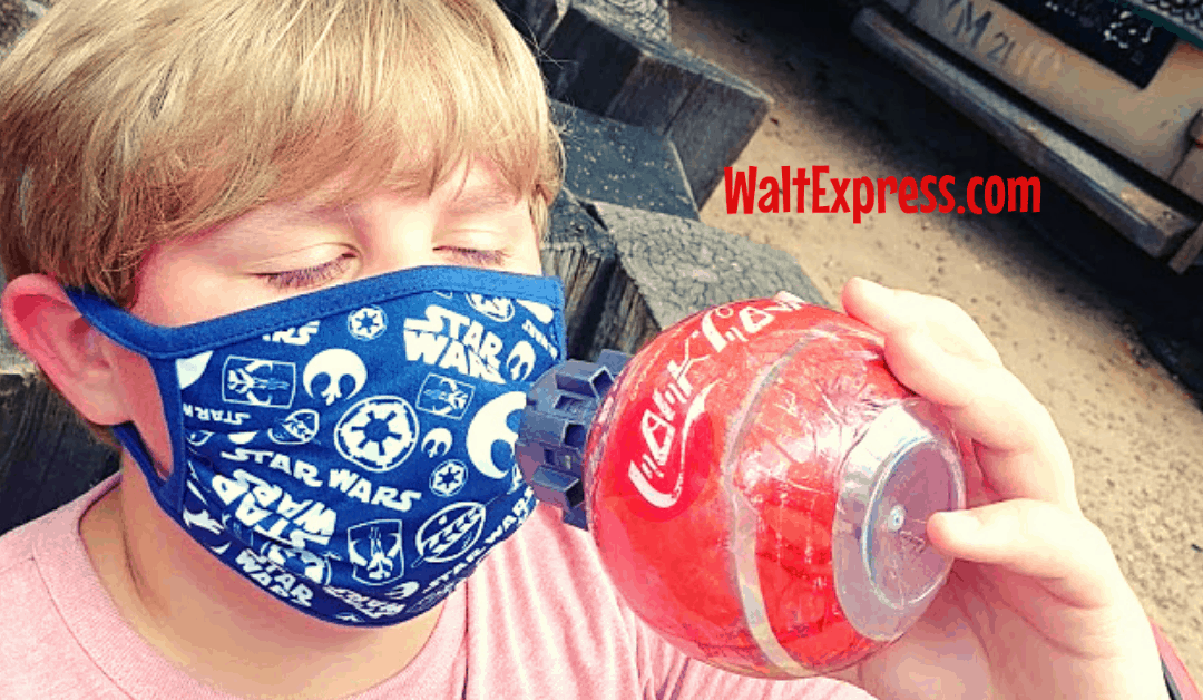 Face Masks, Eating And Drinking At Disney World: The Good, Bad & Ugly