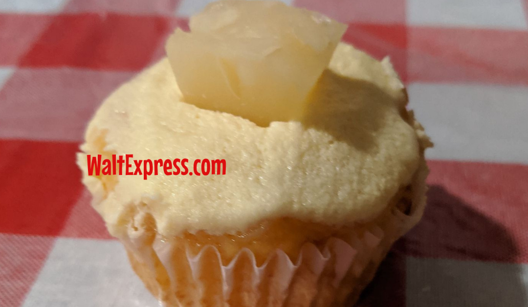 Whip Up Some Disney Inspired Dole Whip Cupcakes At Home