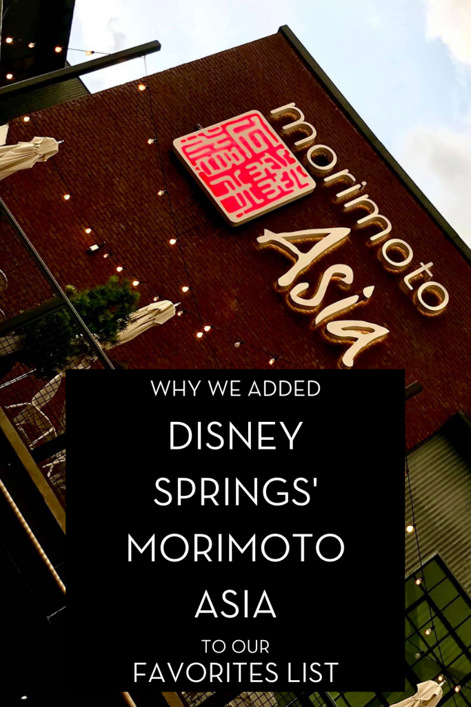 #waltexpress #disneyworld #disneyspringsdining disney springs morimoto asia