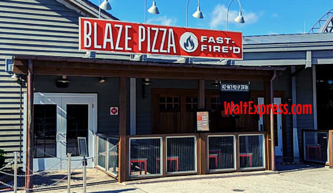 Disney Springs' Blaze Fast-Fire'd Pizza Is THE Place To BE