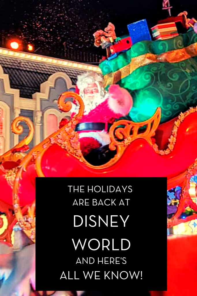#waltexpress #disneyworld #disneyworldholidays holidays are back
