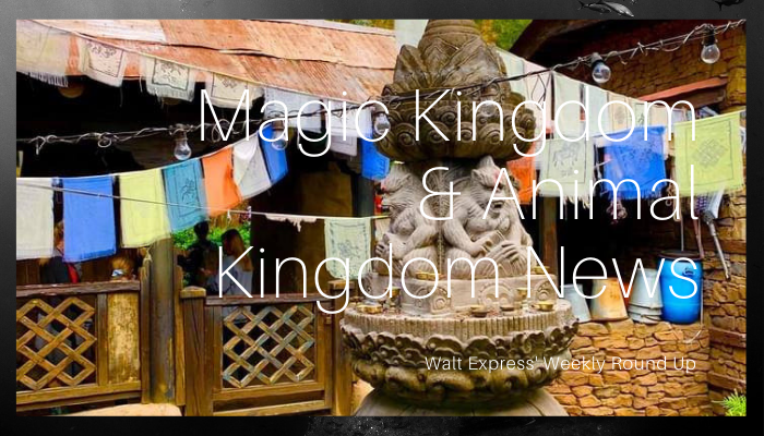 Weekly Roundup: Magic Kingdom and Animal Kingdom News
