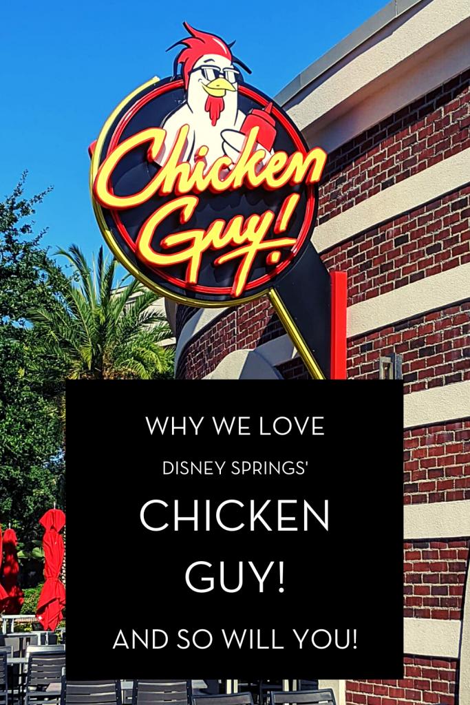 Pinterest image for Why We Love Disney Springs' Chicken Guy! restaurant