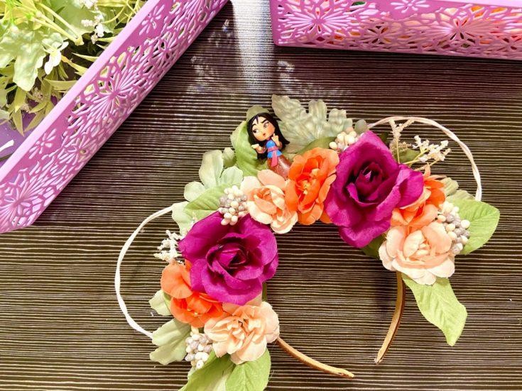 DIY Disney Floral Ears